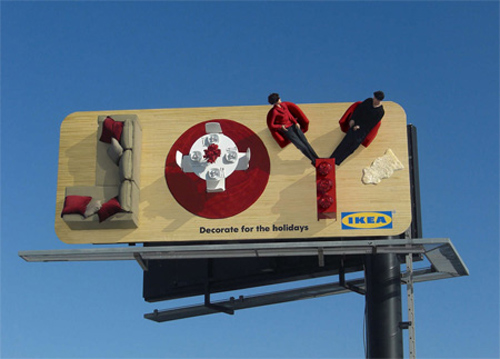 22 examples of creative billboard designs for Top furniture design companies