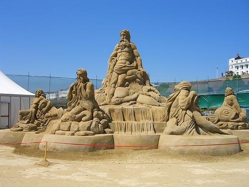 sand sculpture