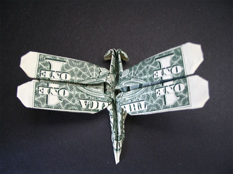 Amazing Collection of Origami Made out of Dollar Bills ... - photo#23