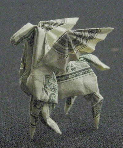Amazing Collection Of Origami Made Out Of Dollar Bills Blueblots