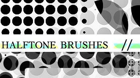 halftone brushes