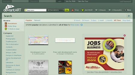 Free Icon Website