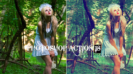 Free Photoshop Action