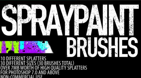 250+ Free Photoshop Spray Brushes - blueblots com