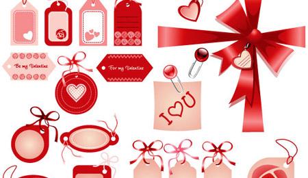 Love Badges Valentines