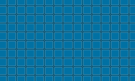 square blue pattern