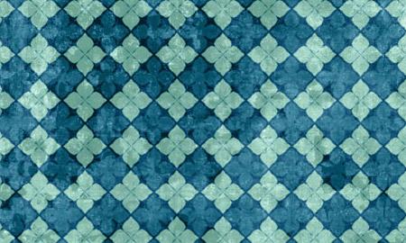floral grunge blue pattern