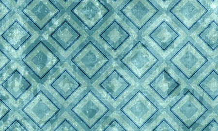 diamond blue pattern