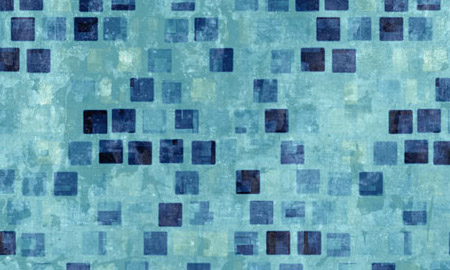 square grunge blue pattern