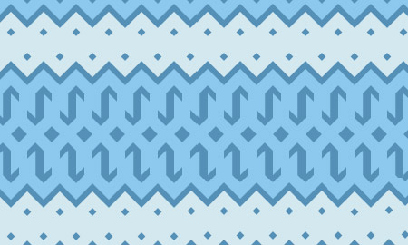 unique blue pattern