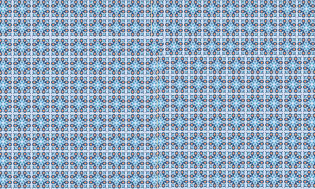 cool blue pattern