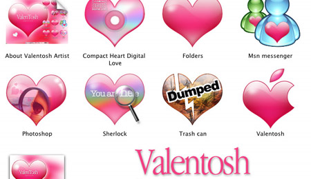 Valentosh OSX Icons
