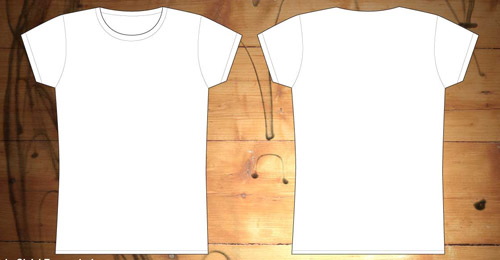 girls shirt template