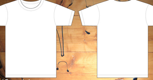 men shirt template