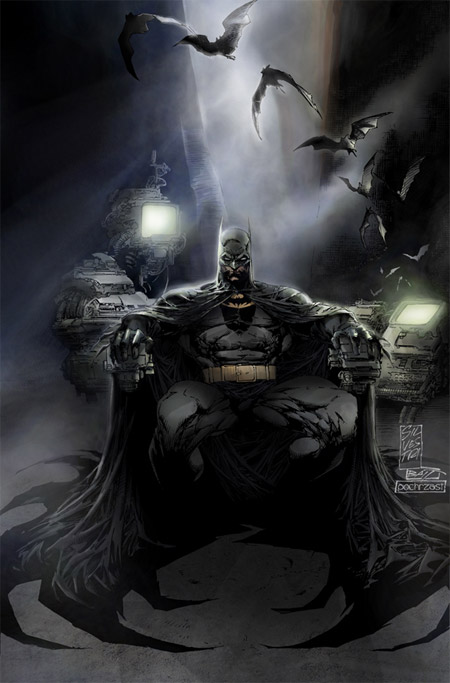 colored batman