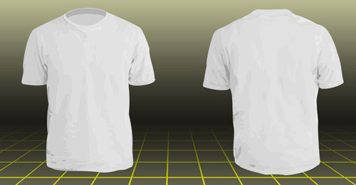 A collection of free t shirt templates for T shirt template with model