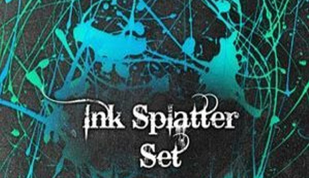 ink splatter
