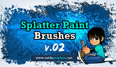 splatter paint brushes