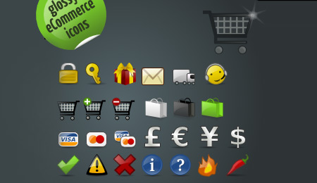 cool ecommerce new  icons