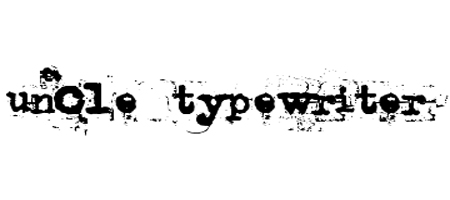 uncle typewriter font