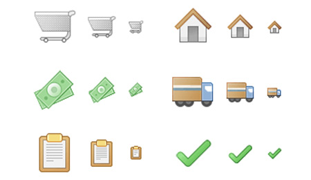 checkout ecommerce  icon