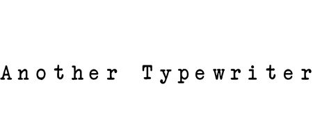 another typewriter font