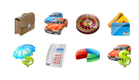 business ecommerce  icons