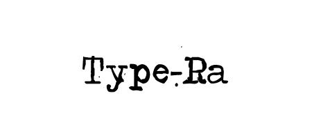 type ra font