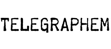 telegraphem typewriter font