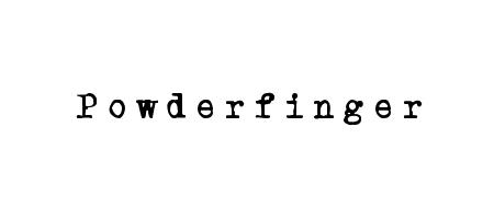 powder finger typewriter
