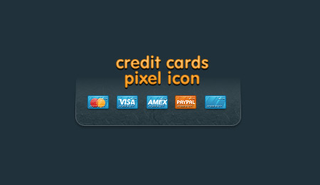 credit card ecommerce icons