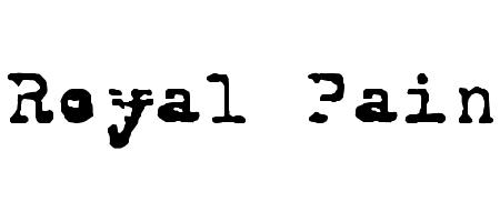 royal pain font