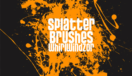 super crazy splatter brushes