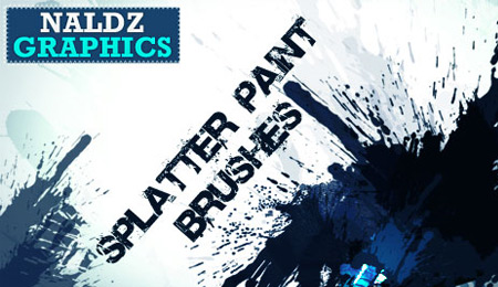 splatter pant brushes
