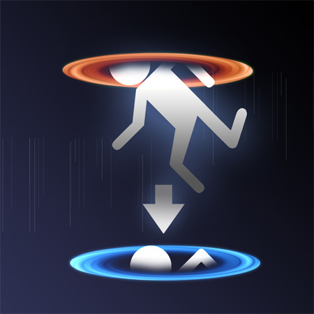 portal iPad wallpaper