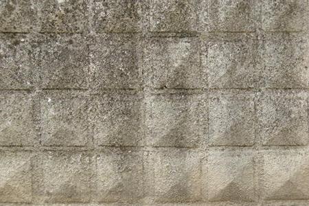 square pattern concrete texture