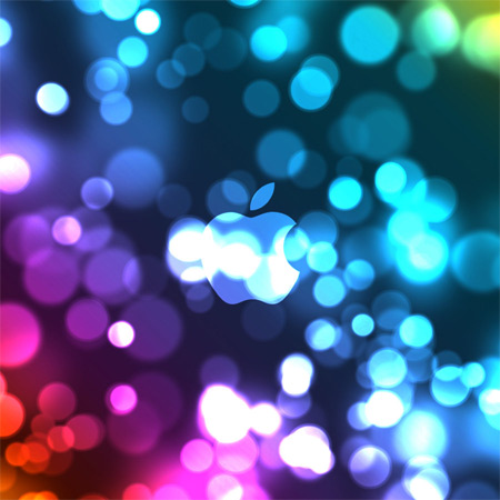 iPad bokeh wallpaper