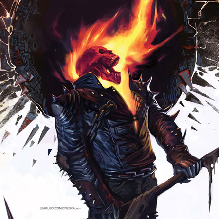 ghost rider iPad wallpaper