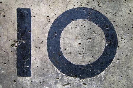 No. 10 grey concrete texture