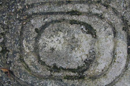 spiral grey concrete texture