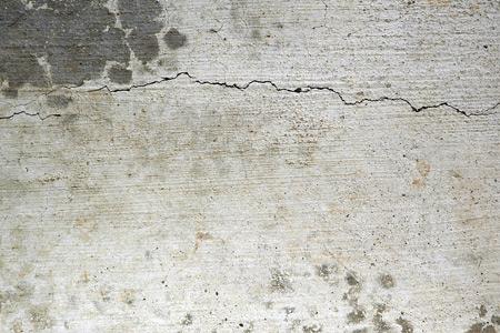 cracked grey concrete texture
