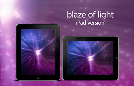 blaze of light iPad version