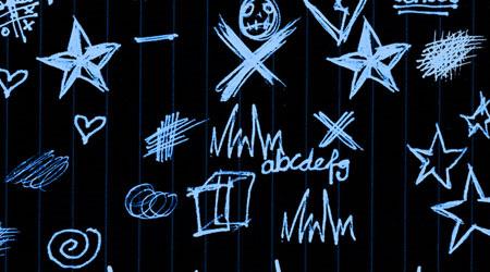 school doodle brush