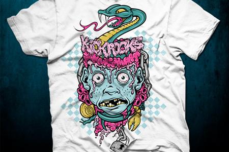 20 Nice Tutorials for Designing T-Shirts