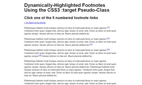 dynamically highlight