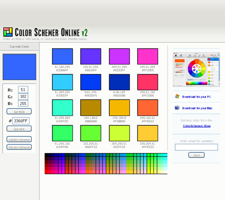 color schemer v2
