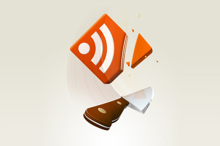 rss feed cut icon