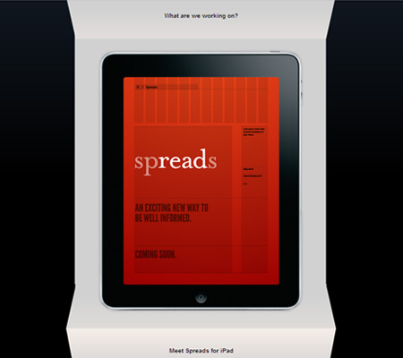 meet spreads for iPad