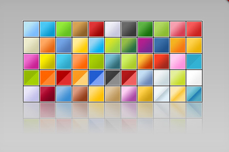 Web 2.0 Photoshop Gradients
