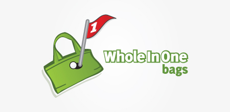 whole in one bags logo